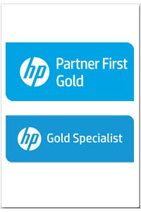 HP - Gold Partner, Gold Specialist